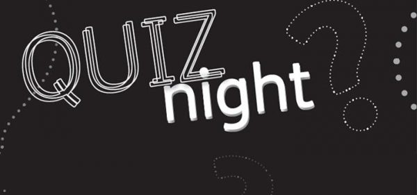 Quiz Night - Sat. 15th Oct. 16 - 7:30pm